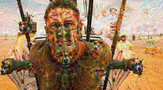 deep dream mad max